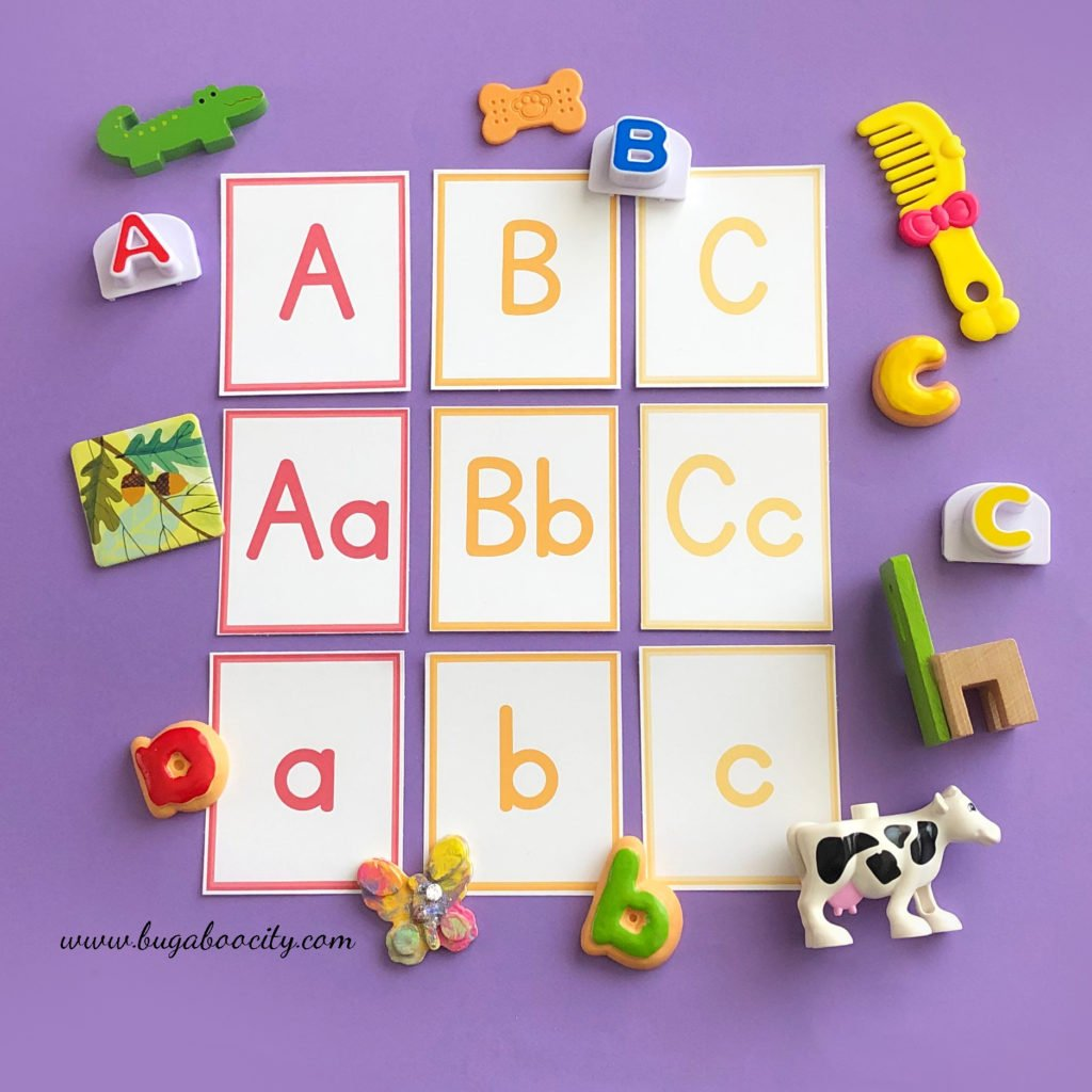 Free Printable ABC Cards - Children's Calendar Cards