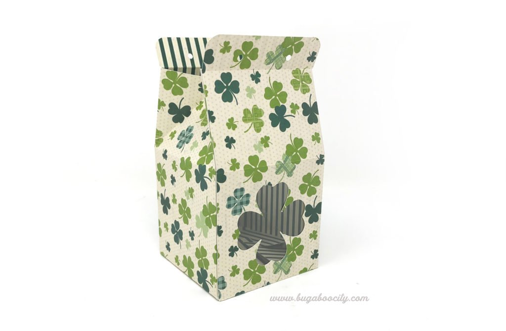 St. Patrick's Day Treat Boxes - Free Pattern and Cut File