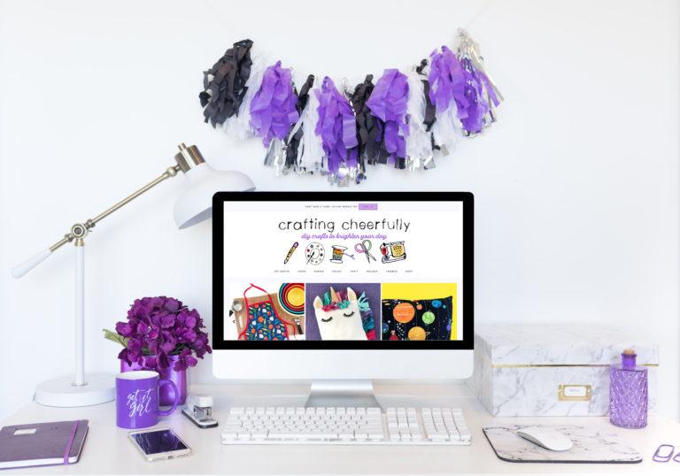 My New Blog Name – Crafting Cheerfully!