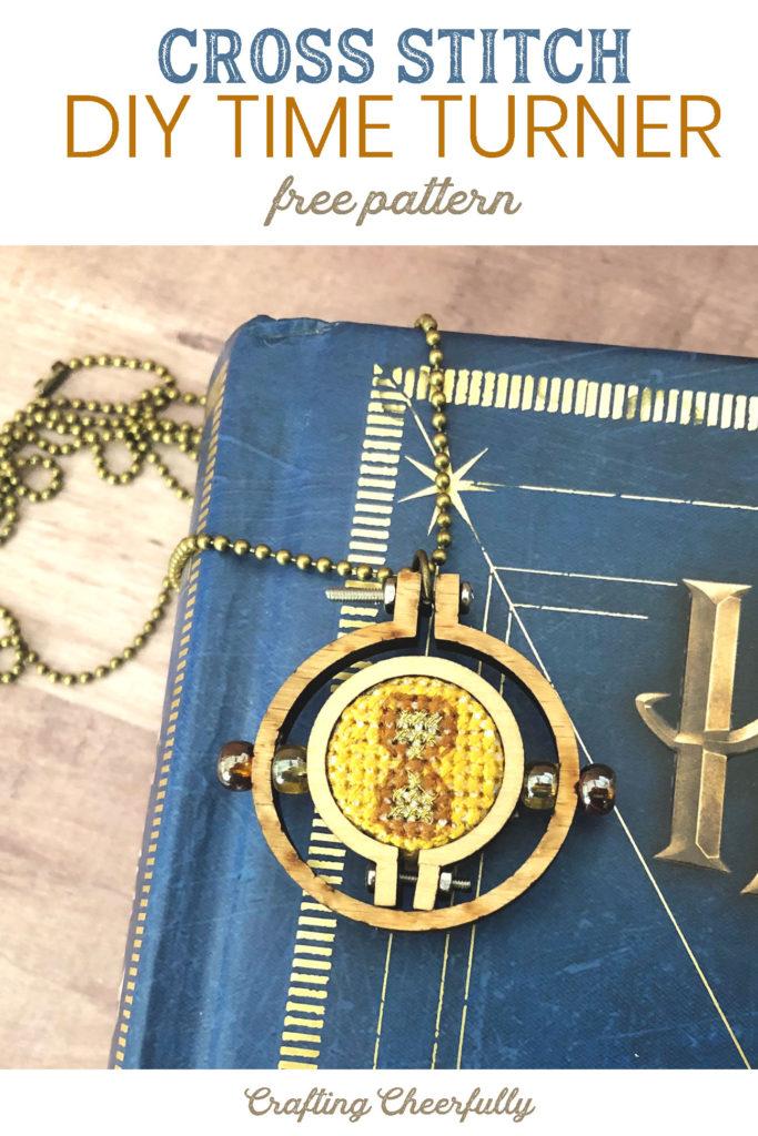 DIY Cross Stitch Time Turner - Free Pattern
