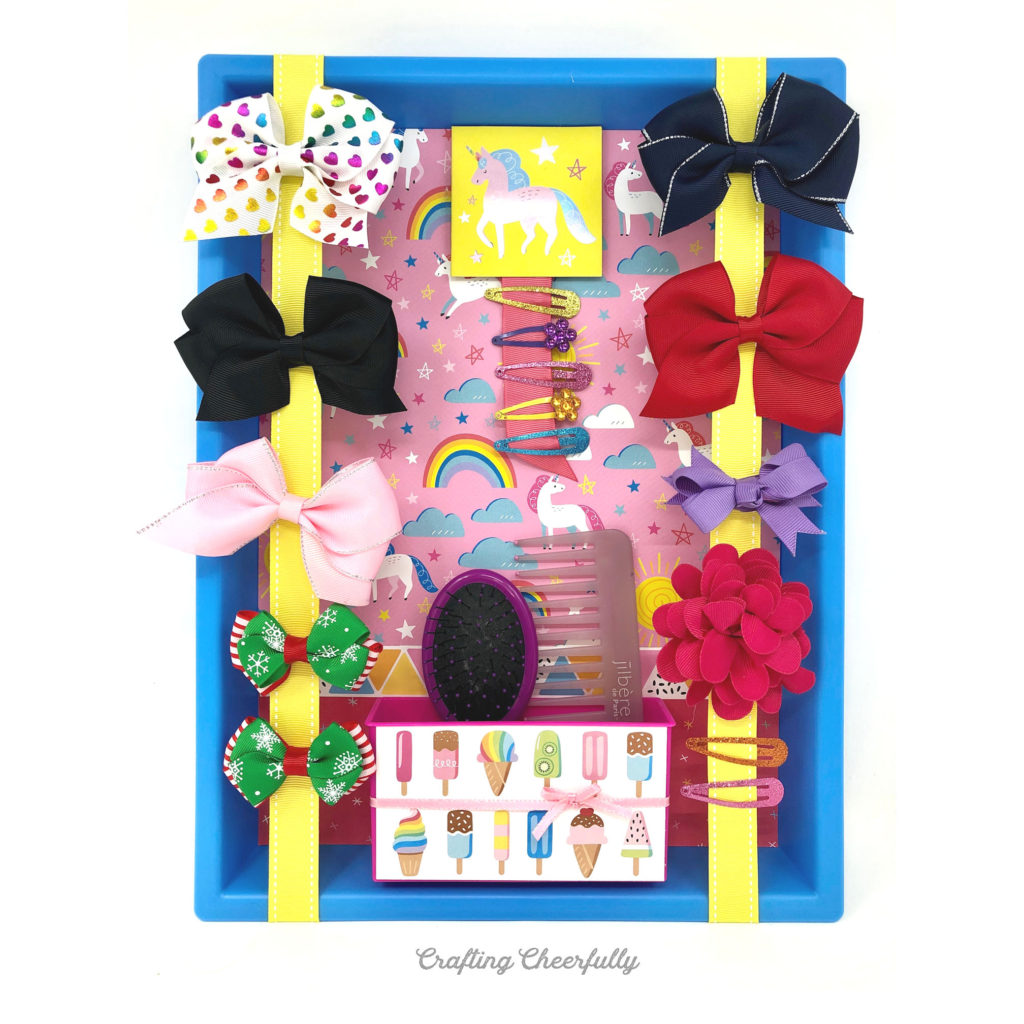 DIY Bow Holder for hair accessories!