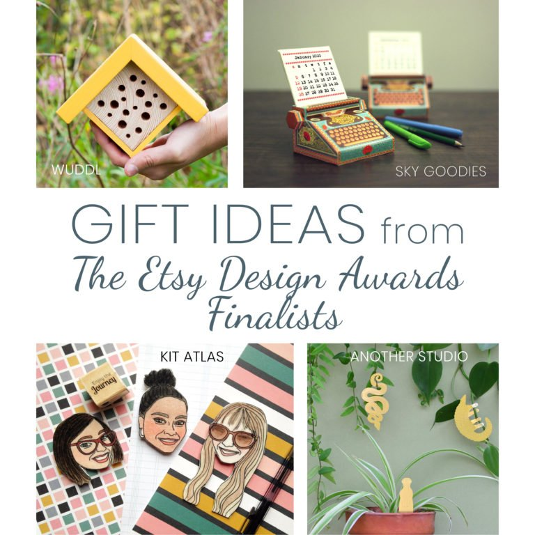 Amazing Gift Ideas from the Etsy Design Award Finalists