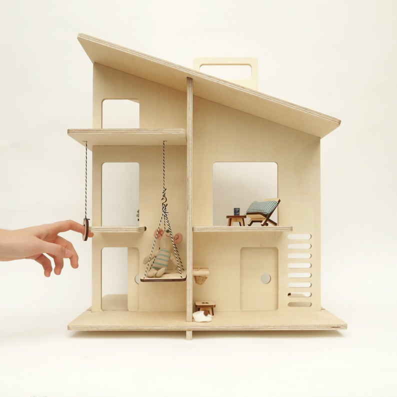 Milywood Milky House Modern Doll House - Etsy Design Award Finalist