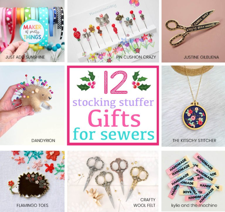 12 Stocking Stuffer Ideas for Sewers