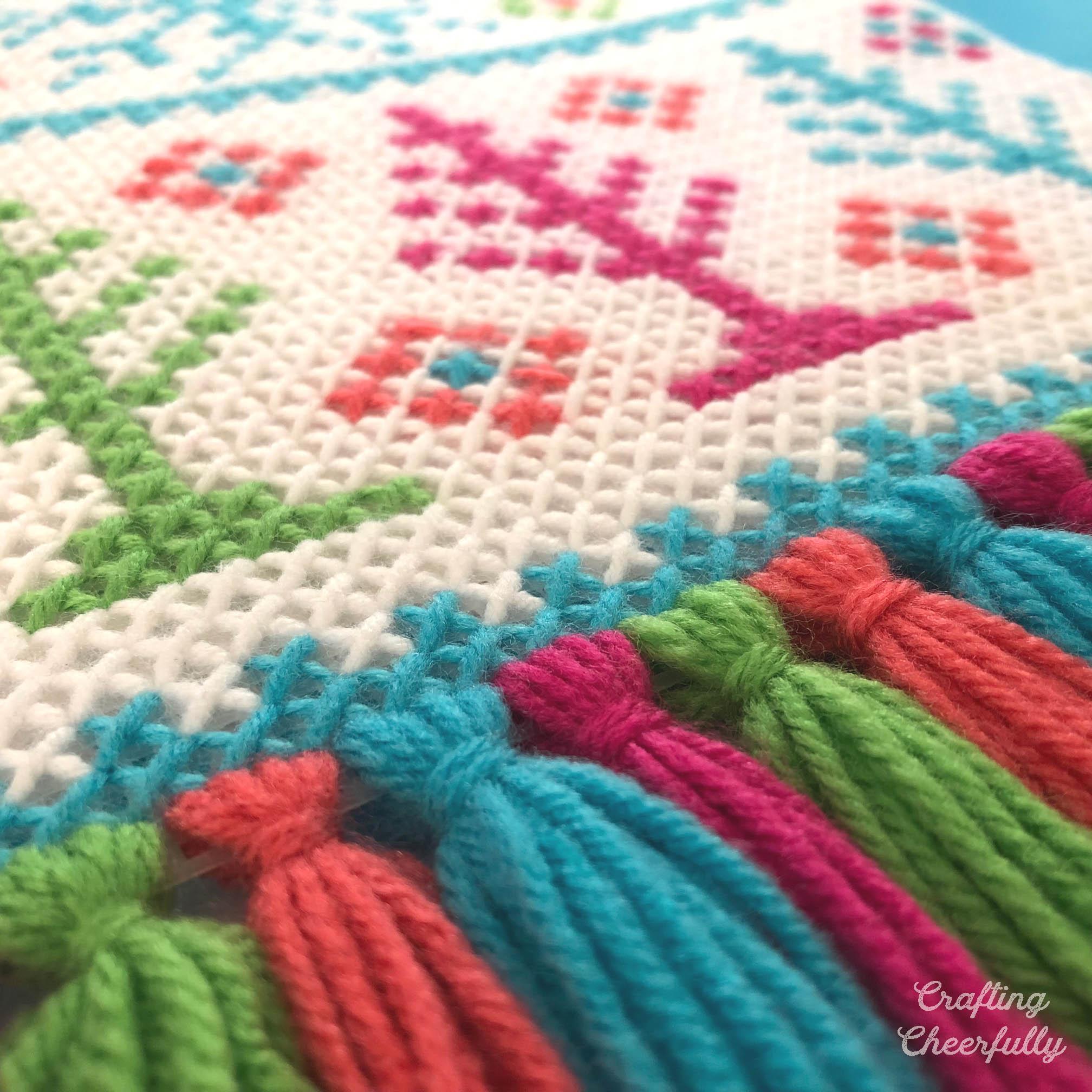 Winter Wonderland Wall Hanging Cross Stitch Pattern
