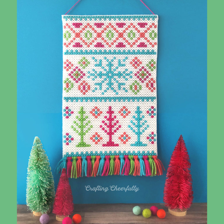 Winter Wonderland Wall Hanging – New Cross Stitch Pattern!