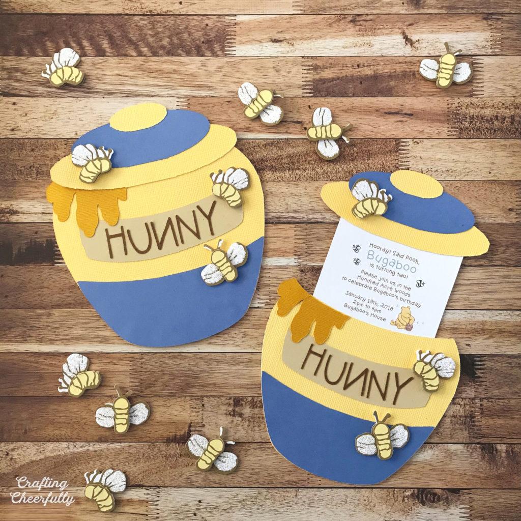 DIY Honey Pot Slider Card