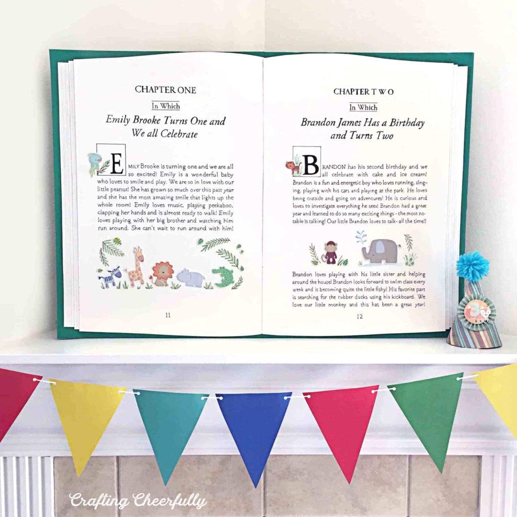 DIY Storybook Party Backdrop