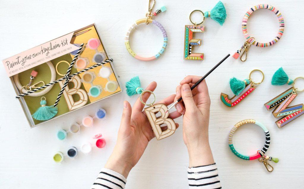 Jill Makes DIY Keychain Painting Kit