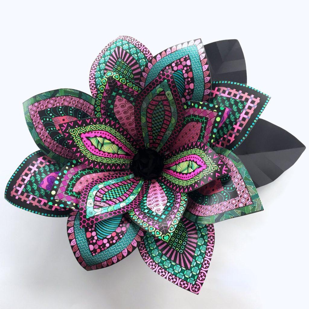 Lifes Moments Designs Paper Flower Craft Kit