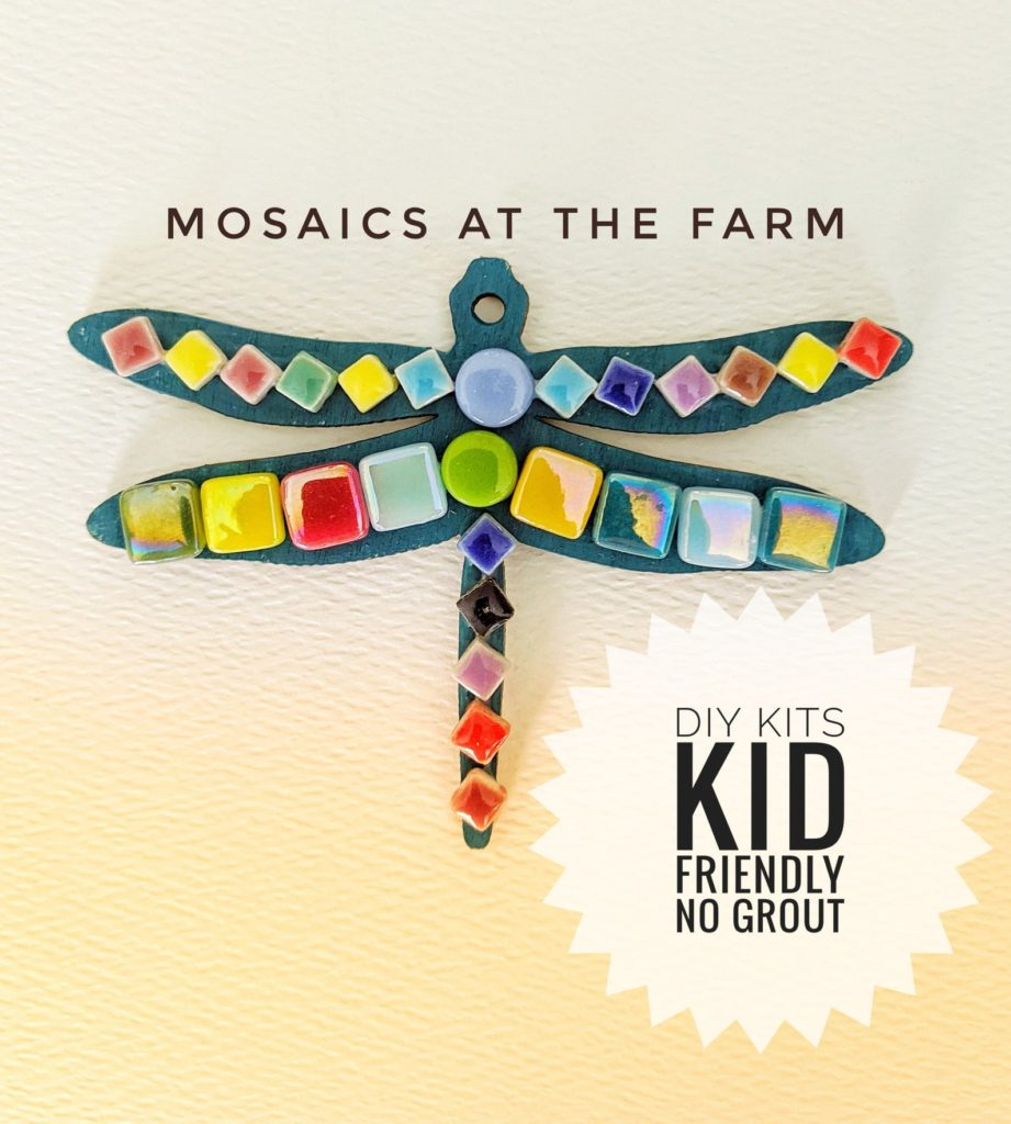 Mosaics at the Farm DIY Mosaic Kit