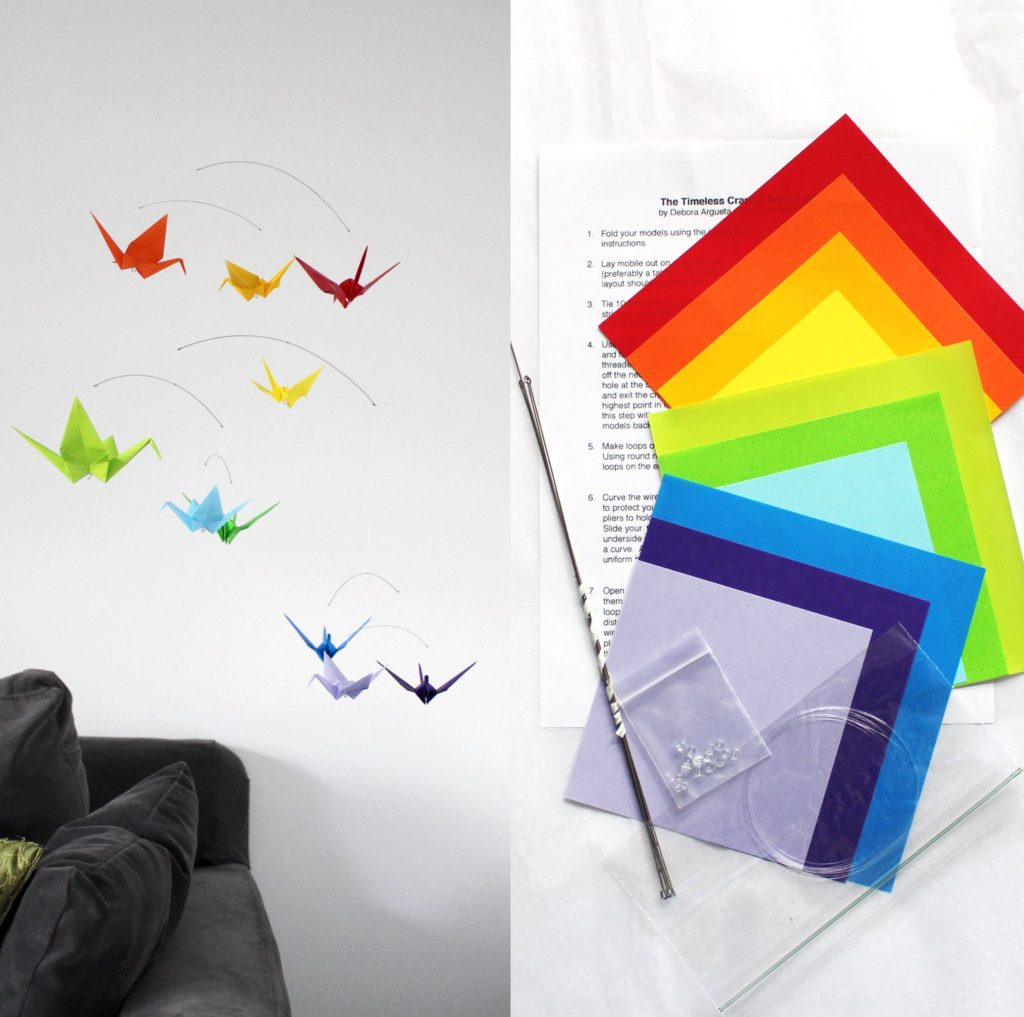 The Timeless Crane Paper Bird Crafting Kit