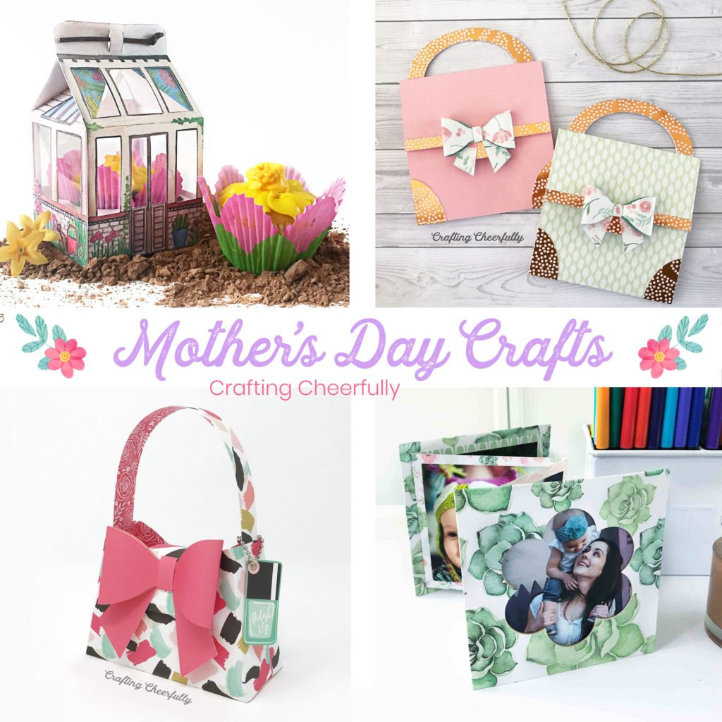 Mother's Day Crafts by Crafting Cheerfully