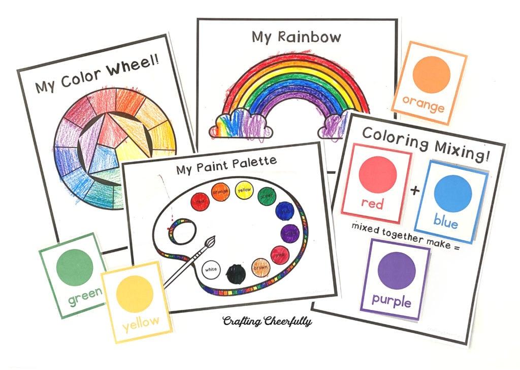 Preschool Learning Calendar Cards
