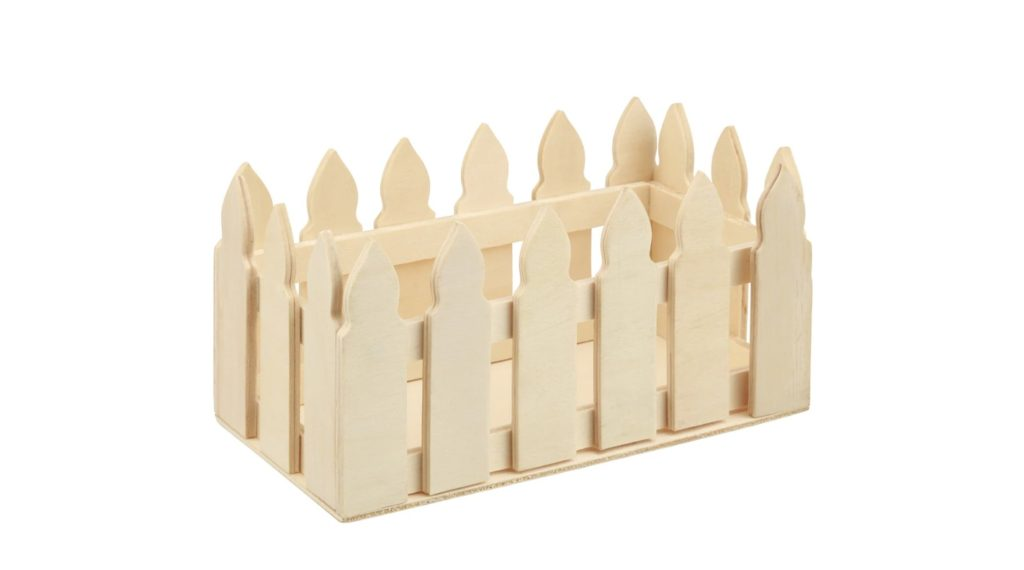 Picket Fence Wooden Box