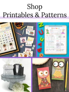 Shop Printables and Patterns
