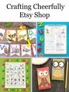 Crafting Cheerfully Etsy Shop