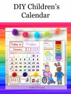 DIY Children's Calendar