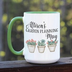 Garden Planning Mug by Ivory Paige