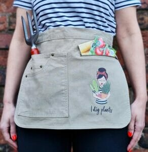 Personalized Gardening Apron by Syd&Co