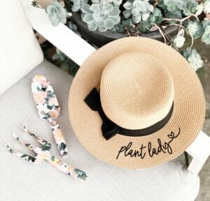 Plant Lady Hat by Mod Party