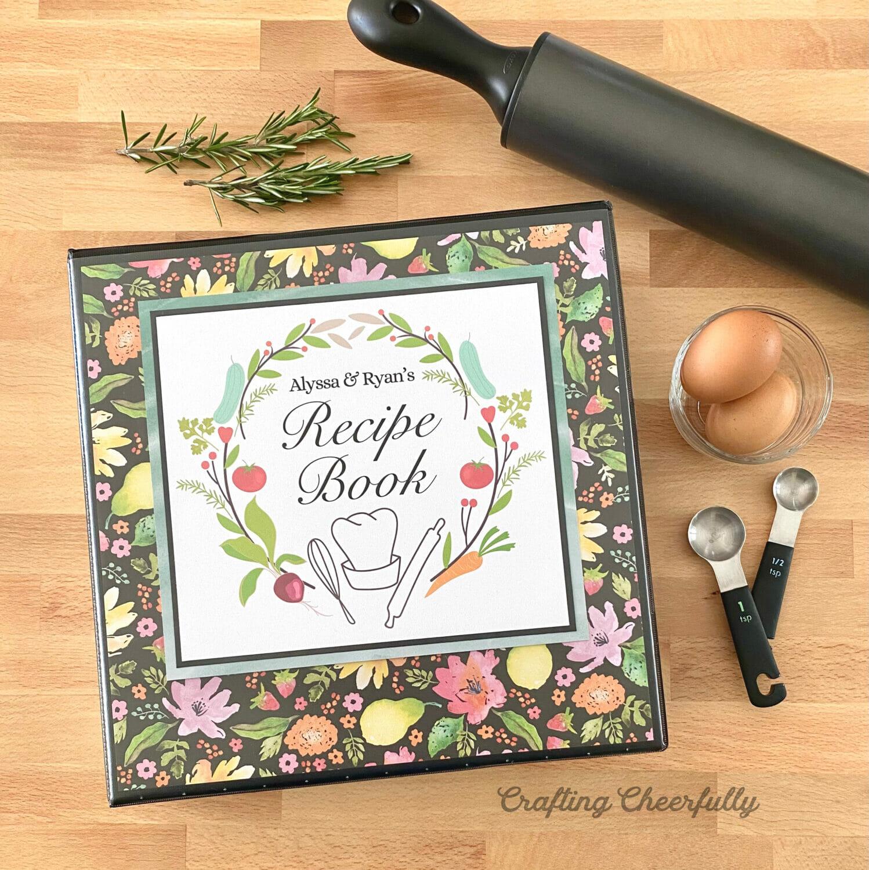 DIY Wedding Shower Recipe Book