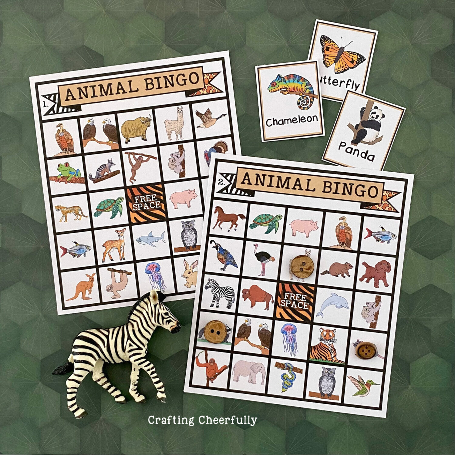 Animal BINGO Game! – Printable Boards