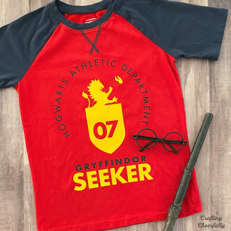 DIY Quidditch Shirt – Using Cricut Iron-On