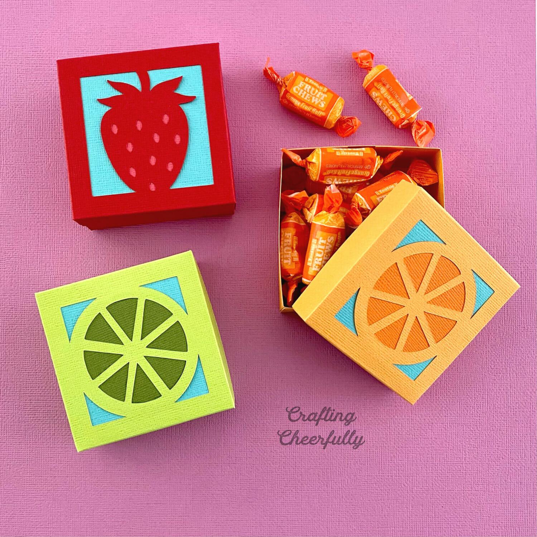 DIY Fruit Party Treat Boxes