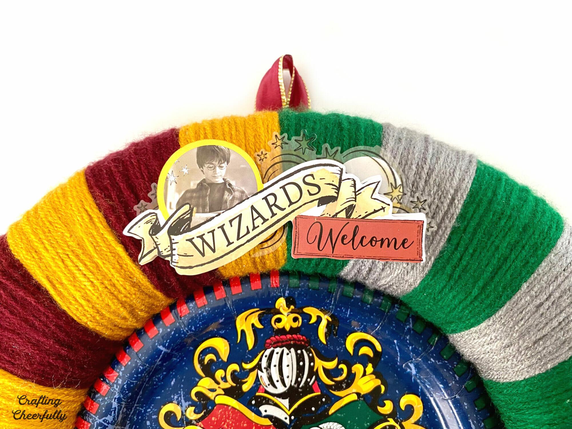 Hogwarts wreath