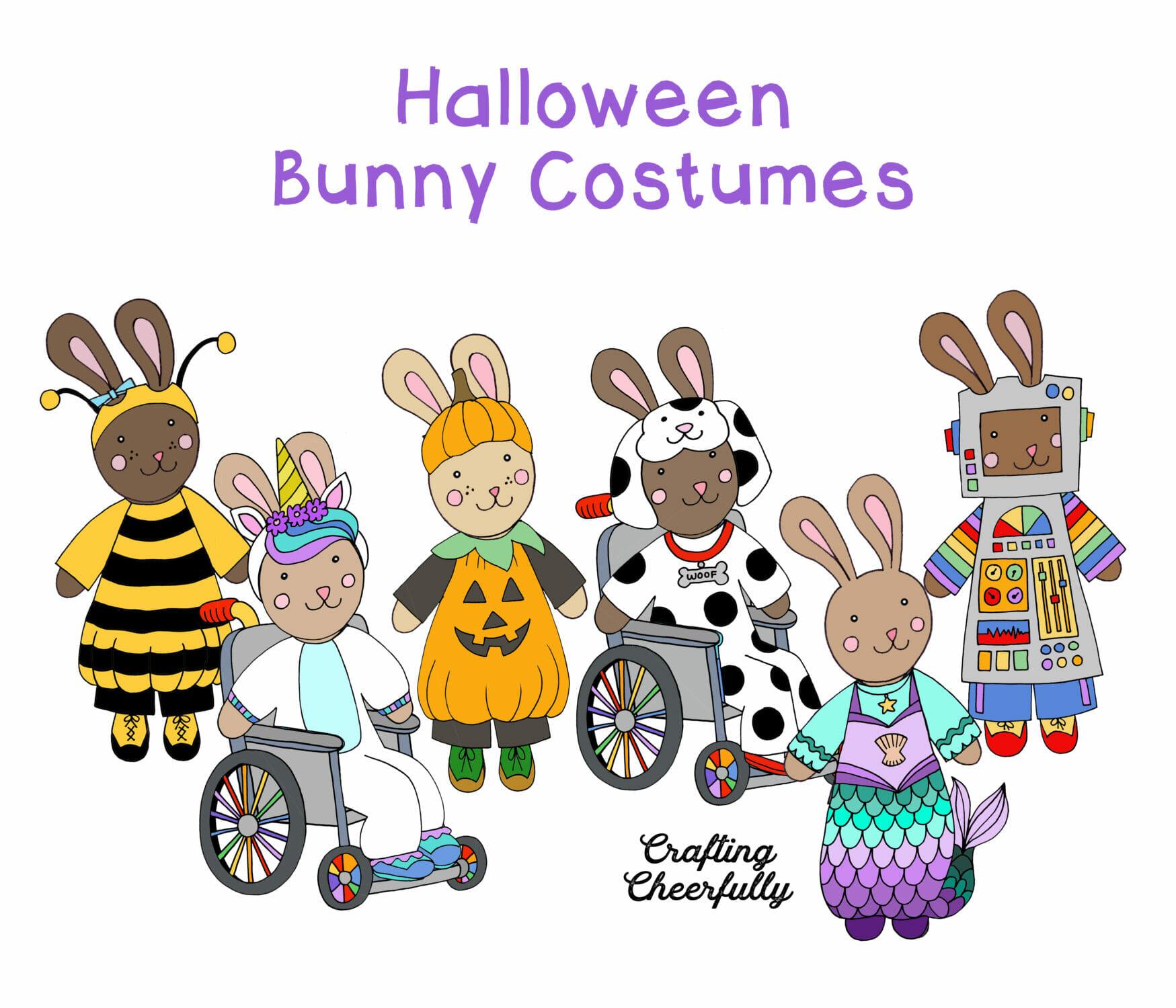 Halloween Bunny Costumes