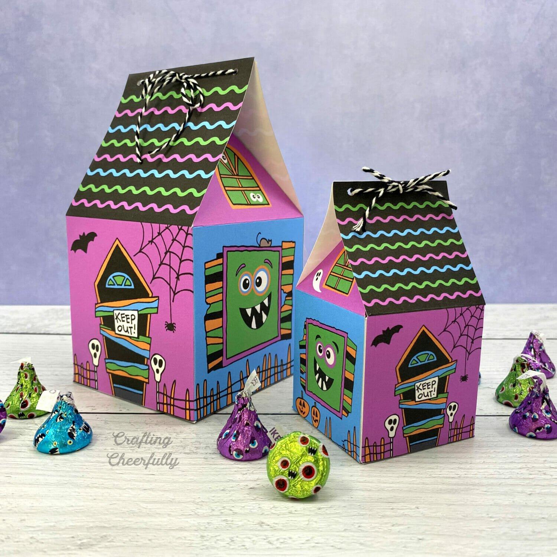 Halloween Monster Treat Boxes