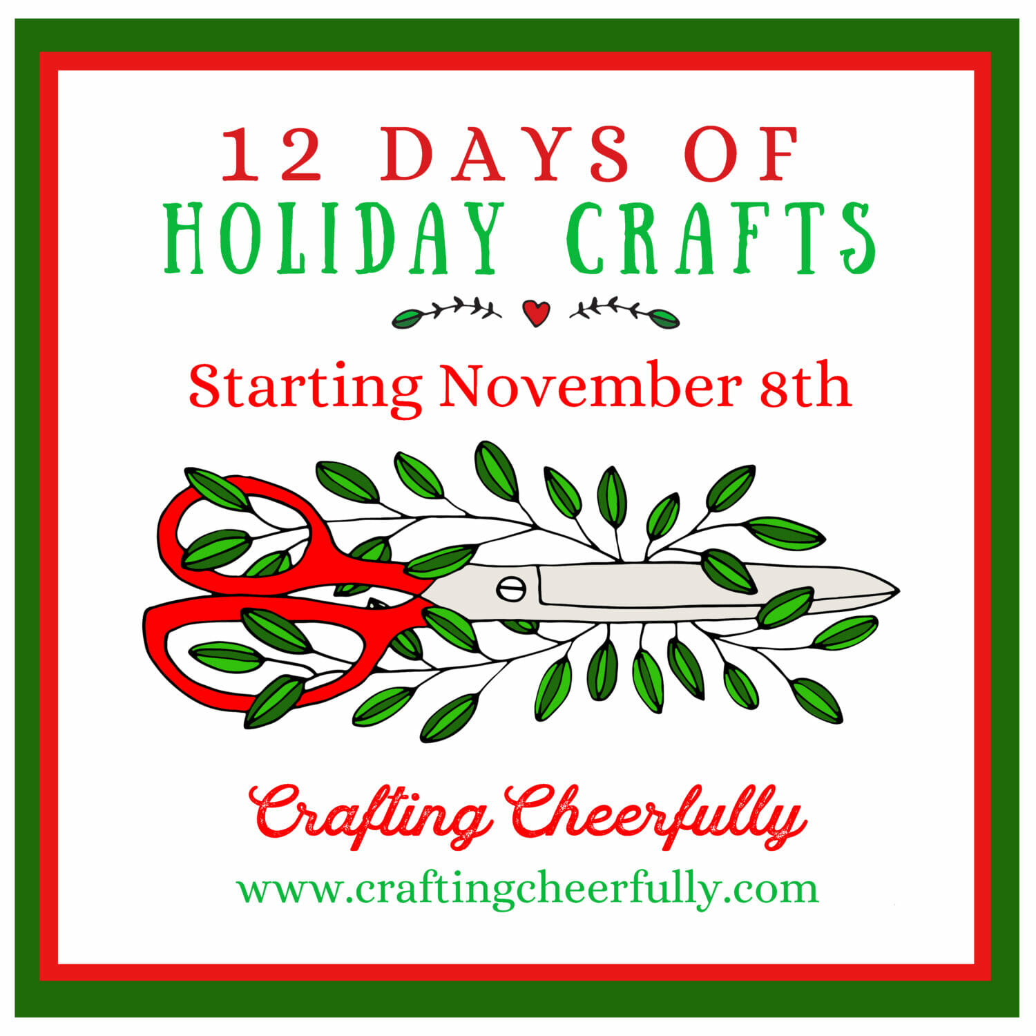 12 Days of Holiday Crafts